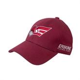 Cardinal Heavyweight Twill Pro Style Hat-Flying Fleet Head