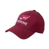 Cardinal Heavyweight Twill Pro Style Hat-Erskine w/Flying Head
