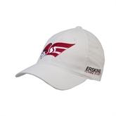 White OttoFlex Unstructured Low Profile Hat-Flying Fleet Head