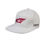 White OttoFlex Flat Bill Pro Style Hat-Flying Fleet Head