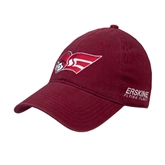 Cardinal Twill Unstructured Low Profile Hat-Flying Fleet Head