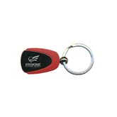 Red Teardrop Key Holder-Official Logo Engraved
