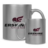 Full Color Silver Metallic Mug 11oz-Erskine Flying Fleet Stacked