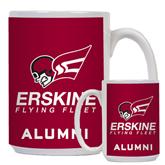 Alumni Full Color White Mug 15oz-Official Logo