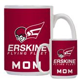 Mom Full Color White Mug 15oz-Official Logo