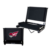 Stadium Chair Black-Flying Fleet Head