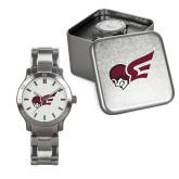 Mens Stainless Steel Fashion Watch-Flying Fleet Mascot