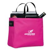 Tropical Pink Essential Tote-Erskine Flying Fleet Stacked