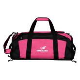 Tropical Pink Gym Bag-Erskine Flying Fleet Stacked