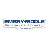 Medium Decal-Embry Riddle Worldwide, 8 inches wide