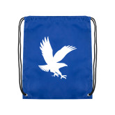 Royal Drawstring Backpack-Eagle