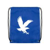 Royal Drawstring Backpack-Eagle