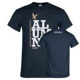 Navy T Shirt-ERW Alumni