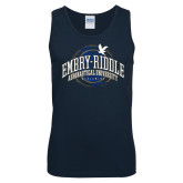 Navy Tank Top-Arched Embry-Riddle Property Of