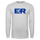 White Long Sleeve T Shirt-ER