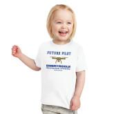Toddler White T Shirt-Future Pilot