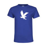 Youth Royal T Shirt-Eagle