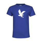 Youth Royal T Shirt-Eagle