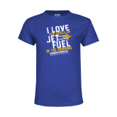 Youth Royal T Shirt-I Love The Smell of Jet Fuel In The Morning