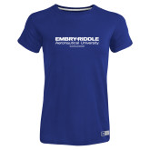 Ladies Russell Royal Essential T Shirt-Embry Riddle Worldwide