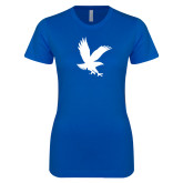 Next Level Ladies SoftStyle Junior Fitted Royal Tee-Eagle