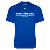 Under Armour Royal Tech Tee-Embry Riddle Worldwide