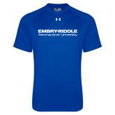 Under Armour Royal Tech Tee-Embry Riddle Aeronautical University