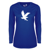 Ladies Syntrel Performance Royal Longsleeve Shirt-Eagle