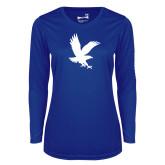 Ladies Syntrel Performance Royal Longsleeve Shirt-Eagle