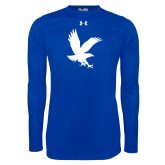 Under Armour Royal Long Sleeve Tech Tee-Eagle