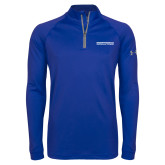 Under Armour Royal Tech 1/4 Zip Performance Shirt-Embry Riddle Aeronautical University