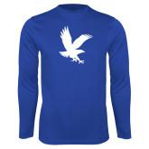 Syntrel Performance Royal Longsleeve Shirt-Eagle