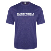 Performance Royal Heather Contender Tee-Embry Riddle Aeronautical University