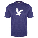 Performance Royal Heather Contender Tee-Eagle