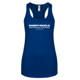 Next Level Ladies Royal Ideal Racerback Tank-Embry Riddle Worldwide