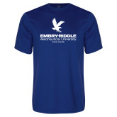 Syntrel Performance Royal Tee-Worldwide Stacked w/ Eagle