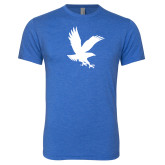 Next Level Vintage Royal Tri Blend Crew-Eagle