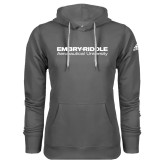 Adidas Climawarm Charcoal Team Issue Hoodie-Embry Riddle Aeronautical University