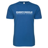 Next Level SoftStyle Royal T Shirt-Embry Riddle Aeronautical University