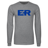 Grey Long Sleeve T Shirt-ER