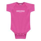 Fuchsia Infant Onesie-Embry Riddle Aeronautical University