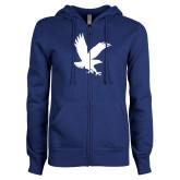 ENZA Ladies Royal Fleece Full Zip Hoodie-Eagle