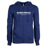 ENZA Ladies Royal Fleece Full Zip Hoodie-Embry Riddle Worldwide