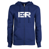ENZA Ladies Royal Fleece Full Zip Hoodie-ER