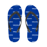 Ladies Full Color Flip Flops-Embry Riddle Worldwide