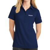Ladies OGIO Navy Jewel Polo-Embry Riddle Worldwide