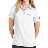 Ladies OGIO White Jewel Polo-Embry Riddle Worldwide