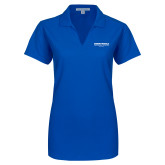 Ladies Royal Dry Zone Grid Polo-Embry Riddle Worldwide