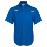 Columbia Bonehead Royal Short Sleeve Shirt-Embry Riddle Worldwide