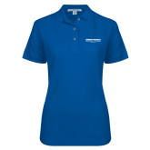 Ladies Easycare Royal Pique Polo-Embry Riddle Worldwide